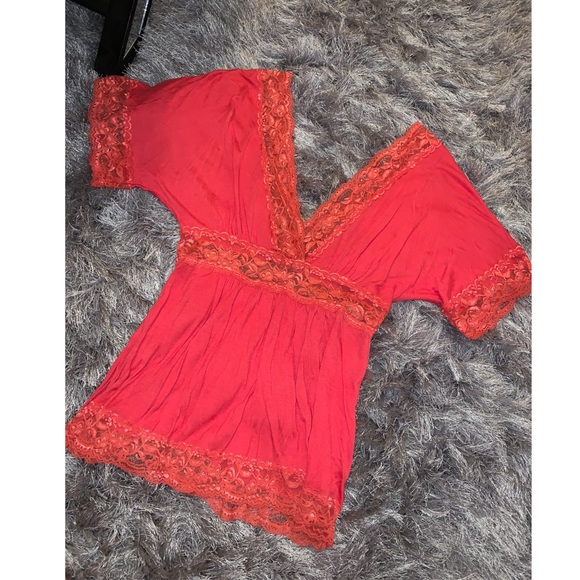 Charlotte Russe Tops - Charlotte Russe lace top